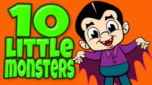 10 Little MonstersAnimated