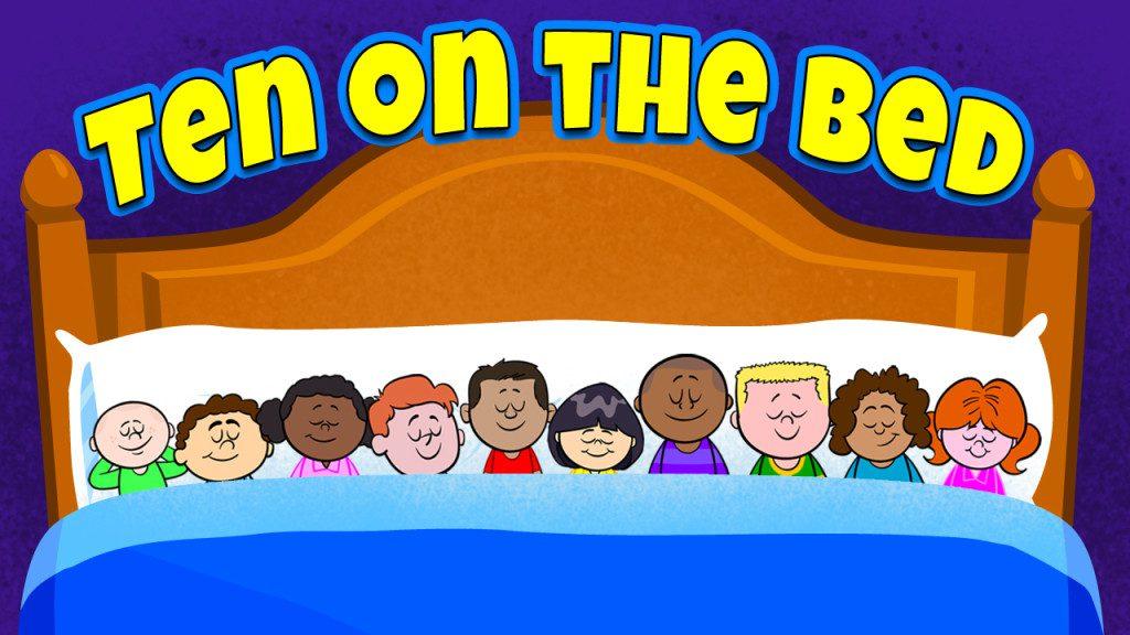 Ten On The Bed Nursery Rhyme Video