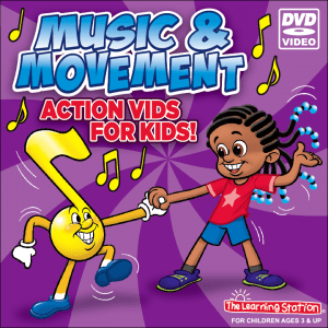 Music & Movement Action Vids for Kids!